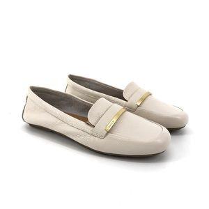 Calvin Klein Lilliana Soft Pebble Leather Loafer